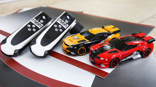 Real FX tabletop racing with AI is like Anki Drive without the need for an iPhone