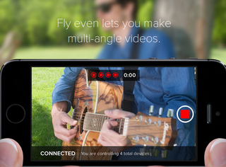 fly app lets you shoot and edit video on the fly with up to four cameras at once image 2