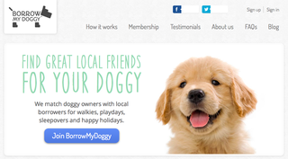 Website of the day: Borrow My Doggy