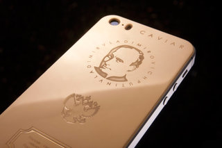 Pretend you're a Russian Oligarch with your own gold Putin phone