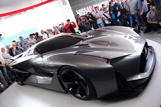 Nissan Concept 2020 Vision GT is a Gran Turismo 6 supercar in the flesh