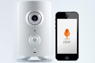 Piper combines smart home security, cameras and sensors you control from your mobile