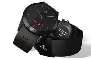 Arrow, the smartwatch with a 360-degree rotating camera, wireless charging and HR monitor