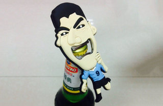 Looking for a Luis Suarez bite bottle opener? Then sink your teeth into this