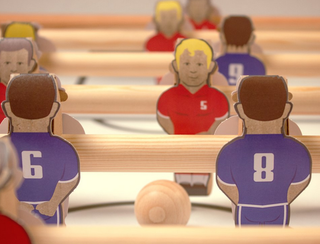 is this the coolest thing ever a flatpack foosball table made of cardboard image 4