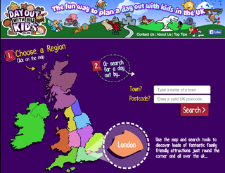 Website of the day: Day Out with the Kids