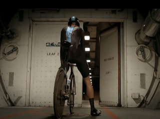 Chris Froome may have crashed out of the Tour de France, but he's cycled the Channel Tunnel