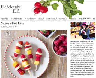 Website of the day: Deliciously Ella