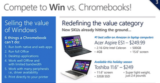 microsoft to give chromebooks some stiff competition this christmas says cheap pcs are coming image 2