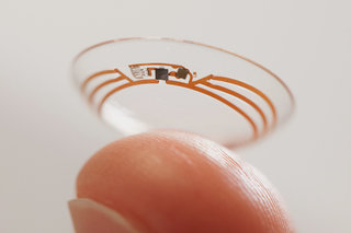 Google is developing smart contact lenses that detect health and autofocus eyes