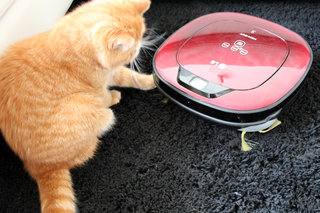 lg hom bot square robotic vacuum cleaner review image 14