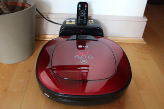 lg hom bot square robotic vacuum cleaner review image 27