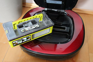 lg hom bot square robotic vacuum cleaner review image 4