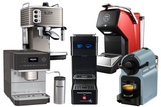 Five of the best coffee machines