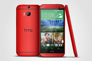 HTC One (M8) in red arrives exclusively at O2 from 4 August