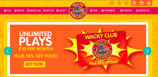 Website of the day: Wacky Warehouse