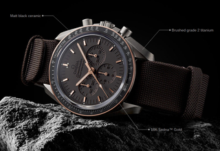 Is This The Best Looking Omega Sdmaster Ever Limited Edition Moonwatch On For