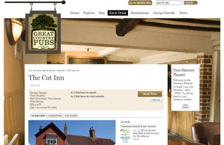 Website of the day: Great Country Pubs