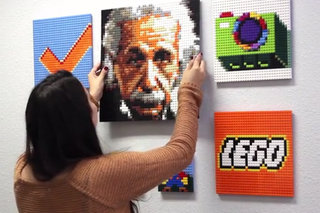 Have yourself or any pic turned into Lego with Brick-A-Pic