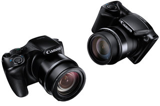 Canon PowerShot SX520 HS and SX400 IS super-zoom bridge cameras announced