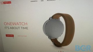 OnePlus OneWatch leaked with sapphire glass OLED and wireless charging