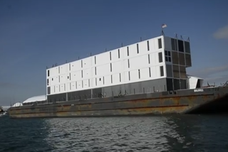 Google sells unfinished barge docked in Maine after months of mystery