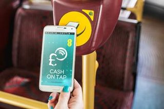 Tap your EE phone to hop on a London bus, without an Oyster card in sight