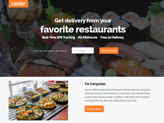 Square buys startup Caviar for $90 million, to start delivering food?