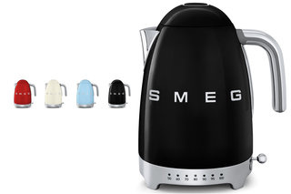 Smeg's retro-style KLF02 kettle will let you make tea in seven temperatures