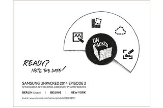Samsung Unpacked 2014 Episode 2 invite all but says Galaxy Note 4 launch