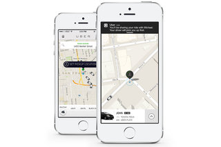 UberPool saves you money, split taxi fares with people taking a similar route