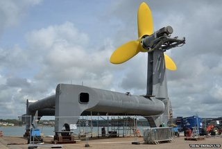 sea turbine unveiled to use tide as power for thousands of uk homes image 2