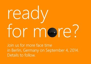 Microsoft teases Windows Phone launch for IFA: Could it be the 'Selfie' Lumia?