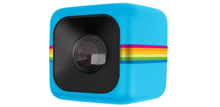 polaroid cube is a tiny camera that records 1080p video and is ultra rugged image 1
