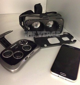 here s samsung vr headset in a leaked photo could debut next month image 2