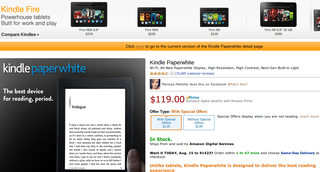 amazon kindle paperwhite quietly updated with double storage image 2