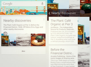 Google Now starts pulling Field Trip data for nearby landmarks and restaurants