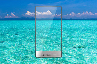 Is the Sharp Aquos Crystal the first truly bezel-free smartphone? (Update)