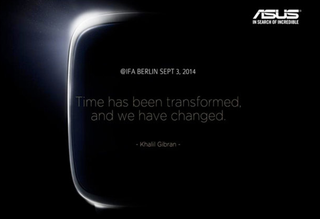 Asus Android Wear smartwatch will debut at IFA tradeshow