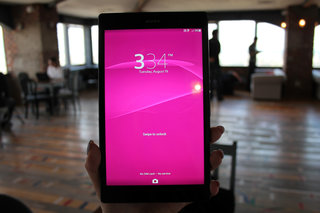 hands on sony xperia z3 tablet compact review image 13