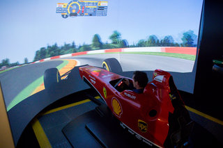 How not to drive an F1 car: Hands-on with the £500k Shell Pro Ferrari F1 Simulator