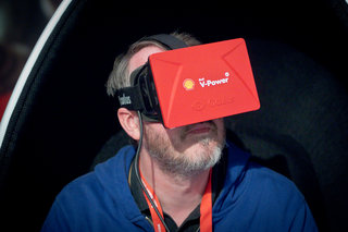Shell Oculus Rift V-Power demo shows why Facebook was so keen to buy VR company