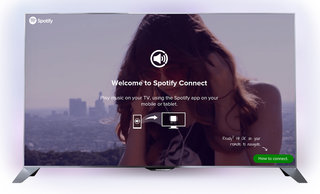 Philips TVs first to declare love for Spotify Connect, TP Vision first manufacturer to include it