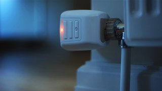 LightwaveRF smart thermostatic radiator valves give you individual room temperature controls