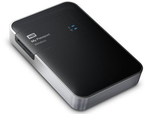 WD My Passport Wireless drive makes cloud storage both physical and portable