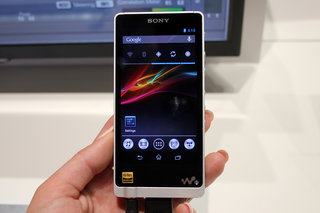 Sony NWZ-ZX1 Walkman loves high-res music, is a bit of a handful (hands-on)
