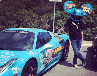 nissan to the rescue car maker gifts nyan cat gtr to deadmau5 after ferrari fall out image 4