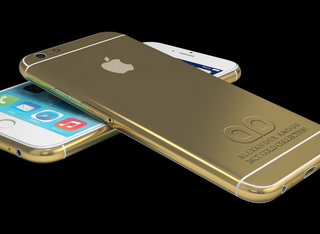 Apple's iPhone 6 hasn't even been announced, but you can already get it in 24-carat gold