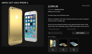 apple s iphone 6 hasn t even been announced but you can already get it in 24 carat gold image 2