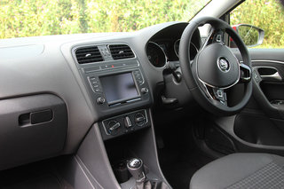 volkswagen polo 2014 first drive the sensible small car gets an internal tech boost image 14